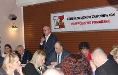 Posiedzenie sprawozdawczo-wyborcze Zarządu Wojewódzkiego Forum Związków  Zawodowych woj. pomorskiego_25