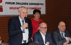 Posiedzenie sprawozdawczo-wyborcze Zarządu Wojewódzkiego Forum Związków  Zawodowych woj. pomorskiego_26
