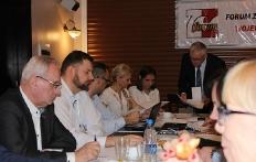 Posiedzenie sprawozdawczo-wyborcze Zarządu Wojewódzkiego Forum Związków  Zawodowych woj. pomorskiego_9