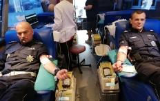 Akcja poboru krwi przy KPP w Pucku_1