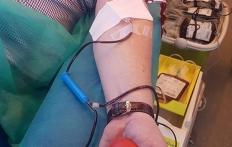 Akcja poboru krwi przy KPP w Pucku_5